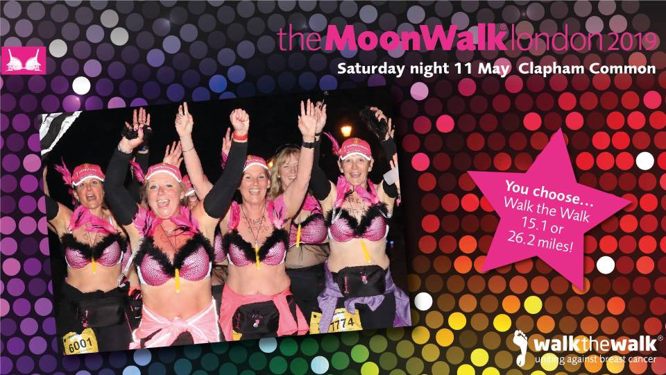 London MoonWalk 2019