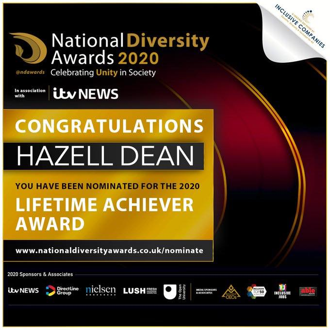 National Diversity Awards 2020 Nominee