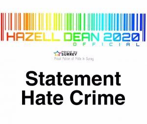 Hate Crime Statement