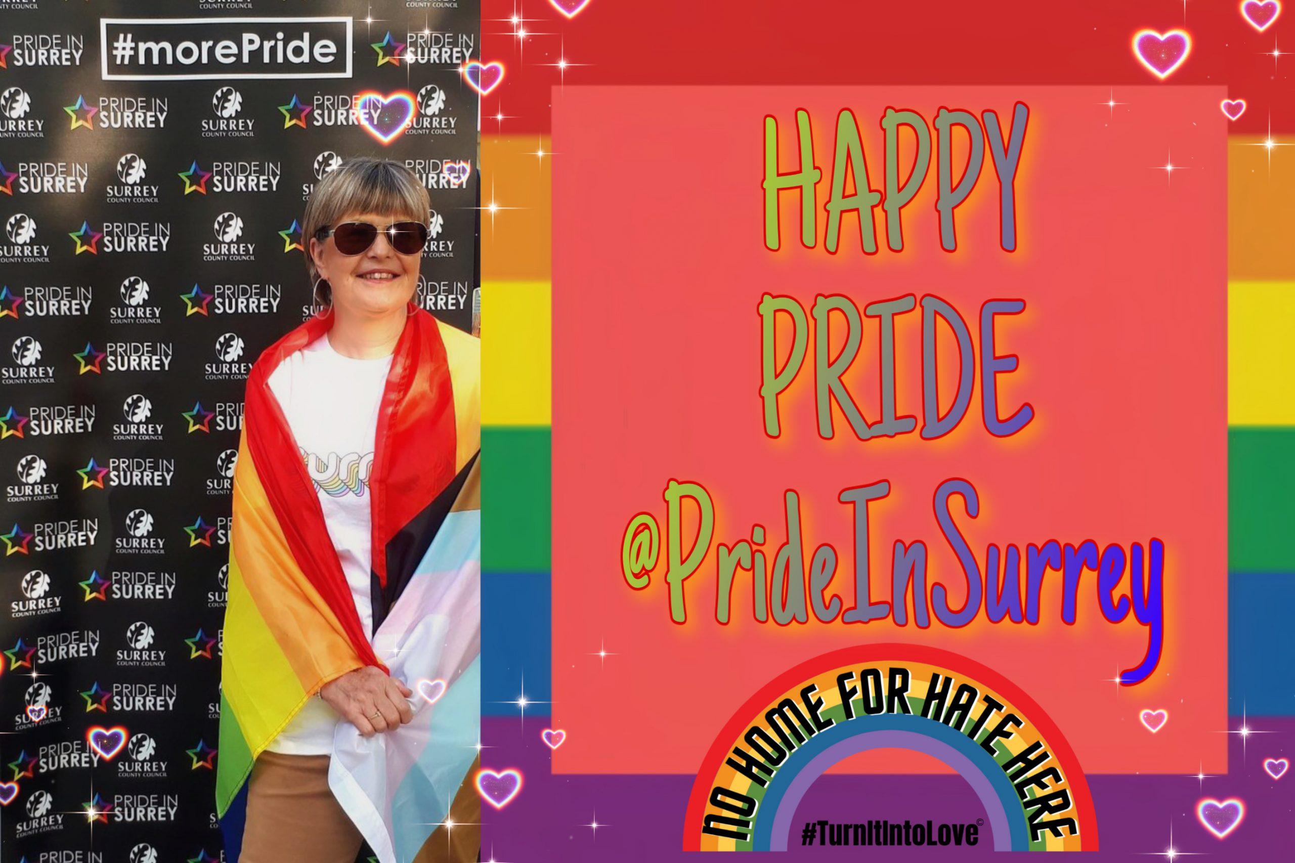 Happy Pride in Surrey!